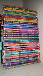 Goosebumps collectable books large lot 70 books Biggera Waters Gold Coast City Preview
