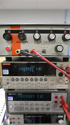 Analogic An3100 Precision Dc Voltage Standard Calibrator 2