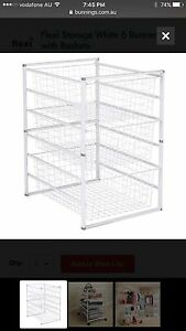 Flexi Storage with wire Baskets Botany Botany Bay Area Preview