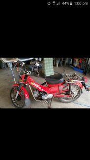 Ct110 postie bike  Lowood Somerset Area Preview