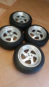 16' Avid-1 wheels and tyres 4x100 Prospect Prospect Area Preview