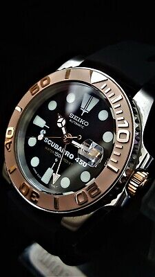 Yacht Master DIVERS WATCH *MODDED with SEIKO DIAL High Accuracy Movement CERAMIC