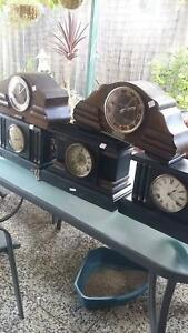 mantel clocks  english france american couple with west minst chime Marangaroo Wanneroo Area Preview