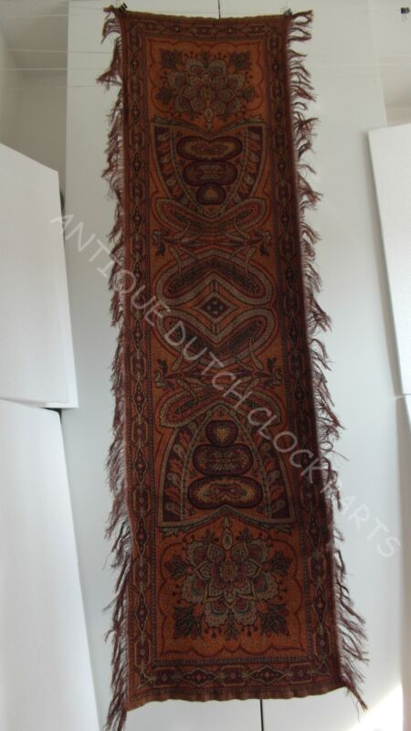 ANTIQUE PAISLEY RUNNER DUTCH FOLKLORE BIETKLEED