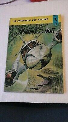 LA PATROUILLE DES CASTORS T18 LES DEMONS DE LA NUIT EO  1973  BON ETAT