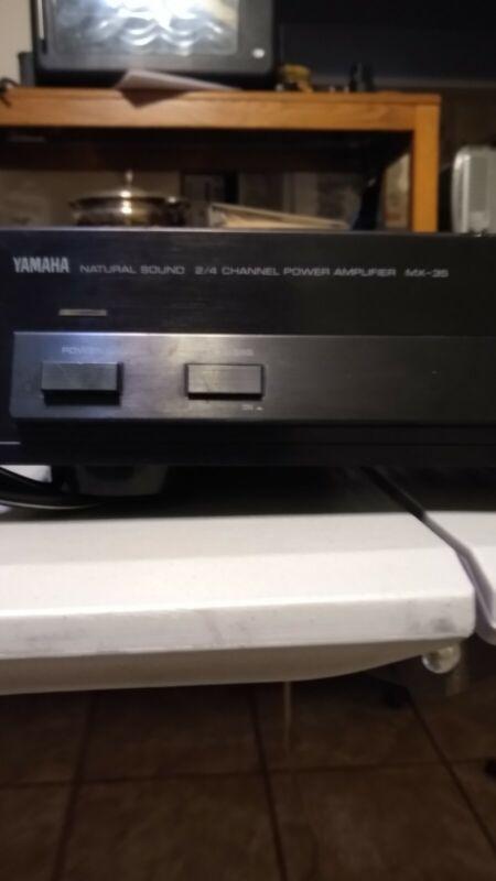 Yamaha M-35 2/4 Channel Amplifier