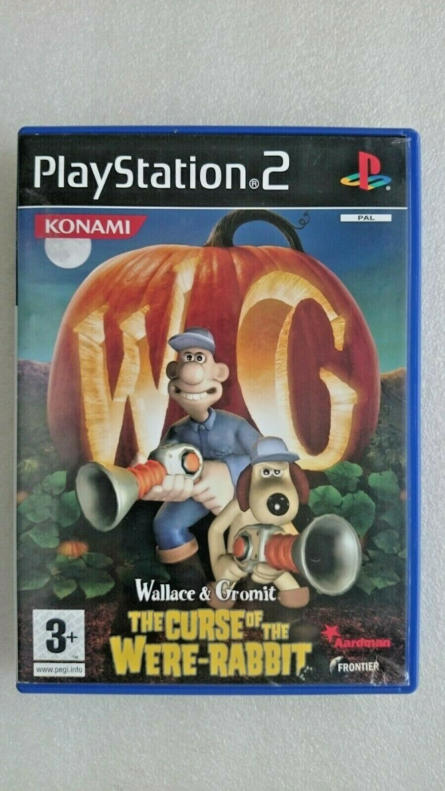 Wallace & Gromit The Curse of the Were-Rabbit (Sony PlayStation 2, 2005)