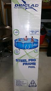 Driclad(Bestway) Steel Frame Portable Pool Aubin Grove Cockburn Area Preview