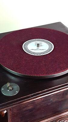 Stroboskop-Scheibe für PATHÉPHONE und EDISON DIAMOND DISC 80, 90, 100 U/Min.