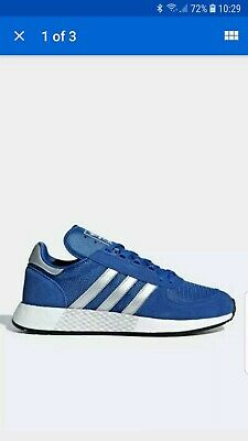 Mens Adidas Marathon x 5923 Never Made Blue/White Trainers  RRP £99.99