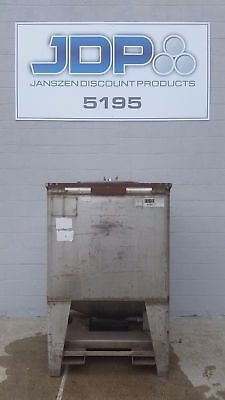 Used Stainless Steel Tote 360 Gallon Ibc Tank Listed Low To Move Fast Sku 31