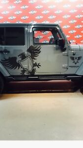 Jeep Wrangler Sahara Side Steps