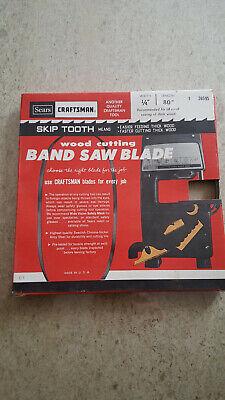 Craftsman Wood Cutting Band Saw Blade 14 80 Skip Tooth 26595