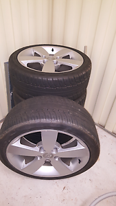 18x8 mags and tires Salisbury Salisbury Area Preview