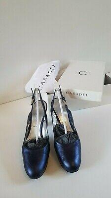Casadei escarpins bleus / blue shoes