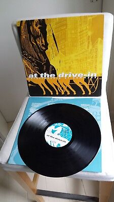 AT THE DRIVE IN >>> original black Vinyl  LP <<< Relationship Of Command