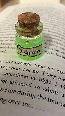 Dollhouse Miniature Corked Glass Jar Labeled Z/'s