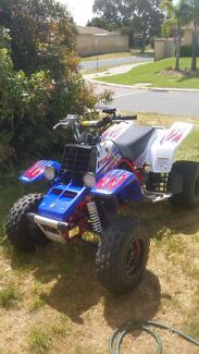 Yamaha 2012 yfz 350 2 stroke banshee atv quad  Clarkson Wanneroo Area Preview