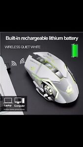 Wireless rechargeable professional gaming mouse