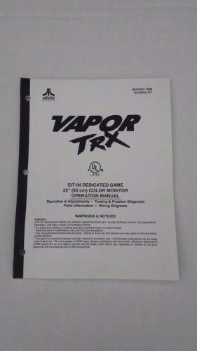 VAPOR TRX-Atari w/SCHEMATICS-Orig. Manual-L@@K!