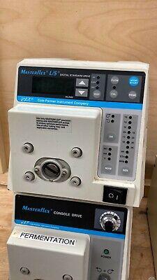 Cole Parmer Masterflex Ls Peristaltic Pump 7523-70easy-load Pump Head