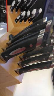 NEW CLASSIC SCANPAN 9 piece knife set Armidale City Preview