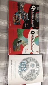 A set of EAP course books in Confederation College