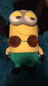 LARGE MINION HULA PLUSH - Coconut Bra - Tag Still On Georgetown Newcastle Area Preview