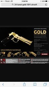 24k gold 1911 Airsoft