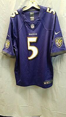 Baltimore Ravens 5 Flacco Jersey - XL - $14.99