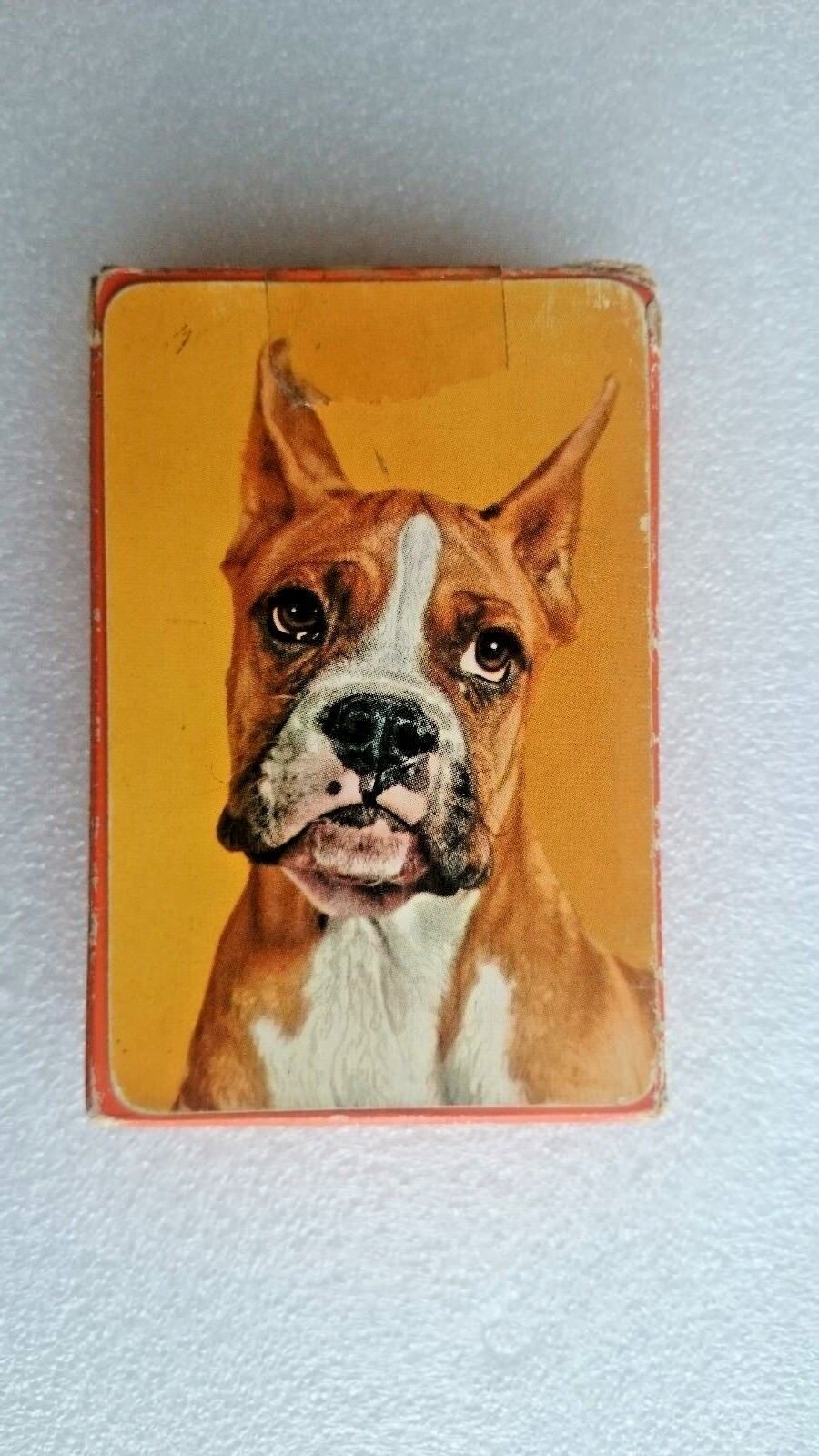Vintage 1950s  Boxer Dog Playing Cards by Alf Cooke
