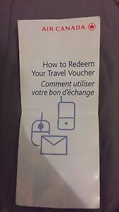 Air Canada Travel Voucher Dickson North Canberra Preview