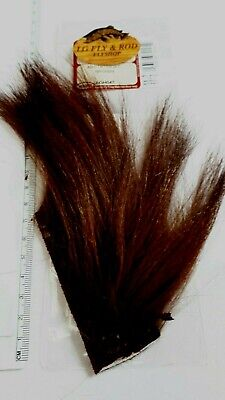 8colors Goat Dubbing Spiky Fiber Goat Hair Natural Shaggy Dub Fly Tying Material