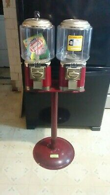 Double candy/gumball machine