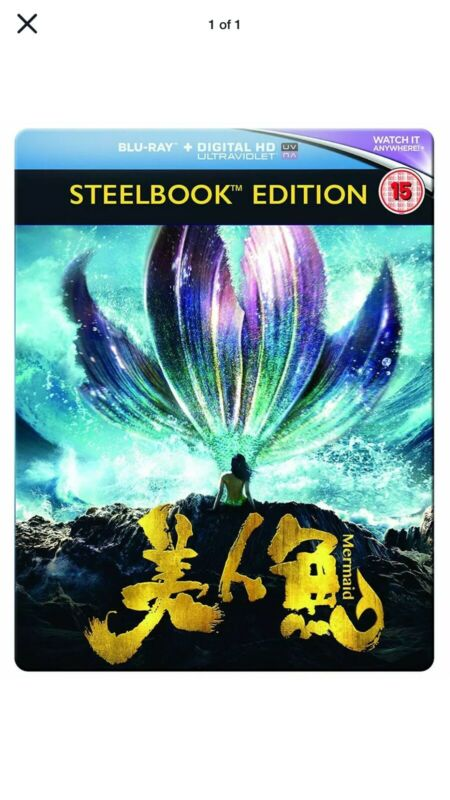 The+Mermaid+Steelbook+Edition+Blu-ray+UK+New+Sealed