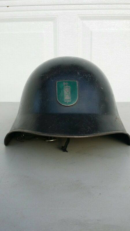 St. Gallen Badge Swiss M18/40 Fireman Helmet Ww1 Ww2