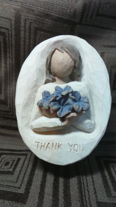 "Willow Tree Angel Trinket Box,""Thank You"", 2005, Susan Lordi, DEMDACO"