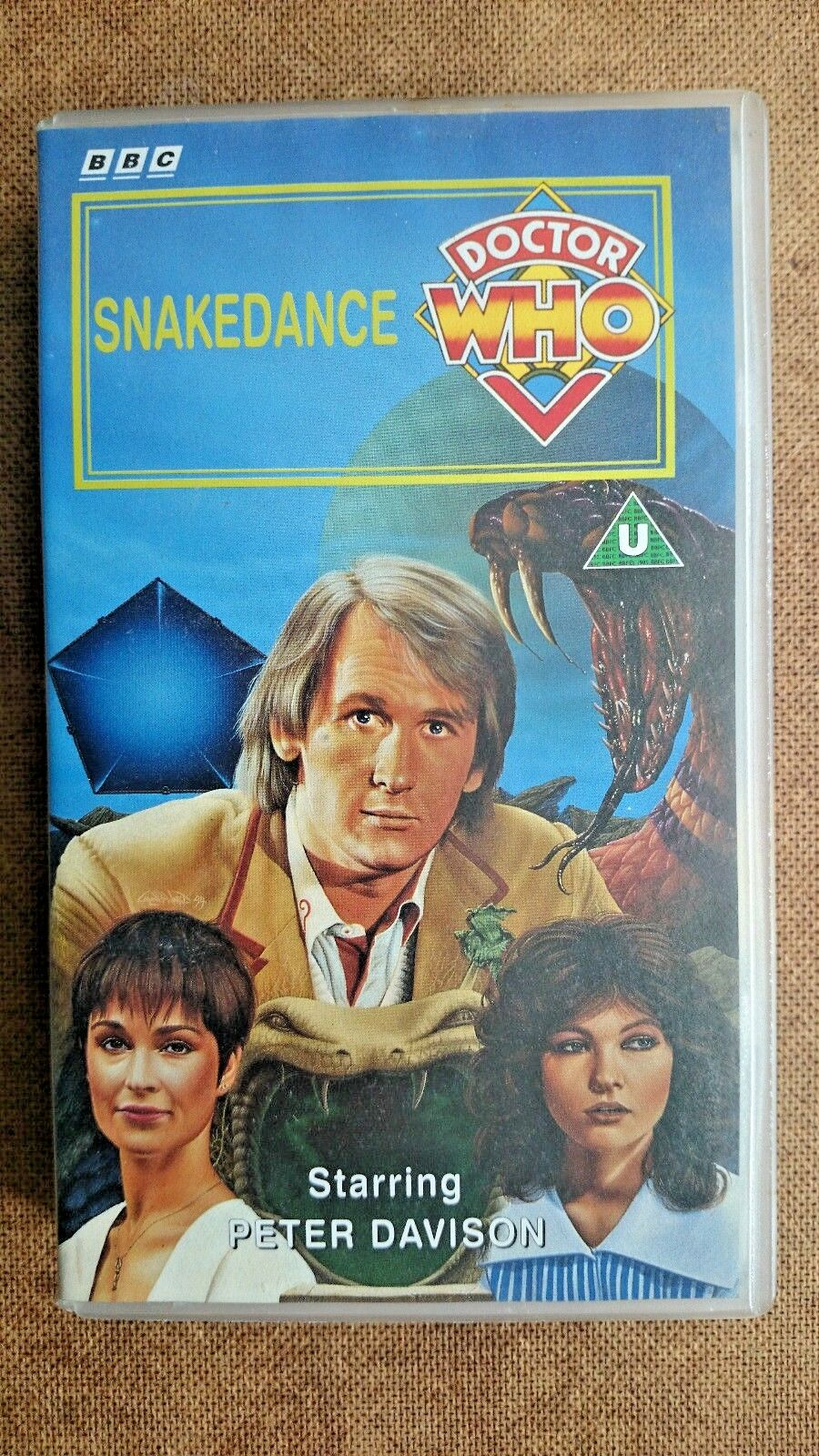 Doctor Who - Snakedance (VHS, 1994) - Peter Davidson