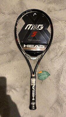 Head MXG 5 Tennisschläger Tennis Brand Neu unbesaitet L2 Top Preis