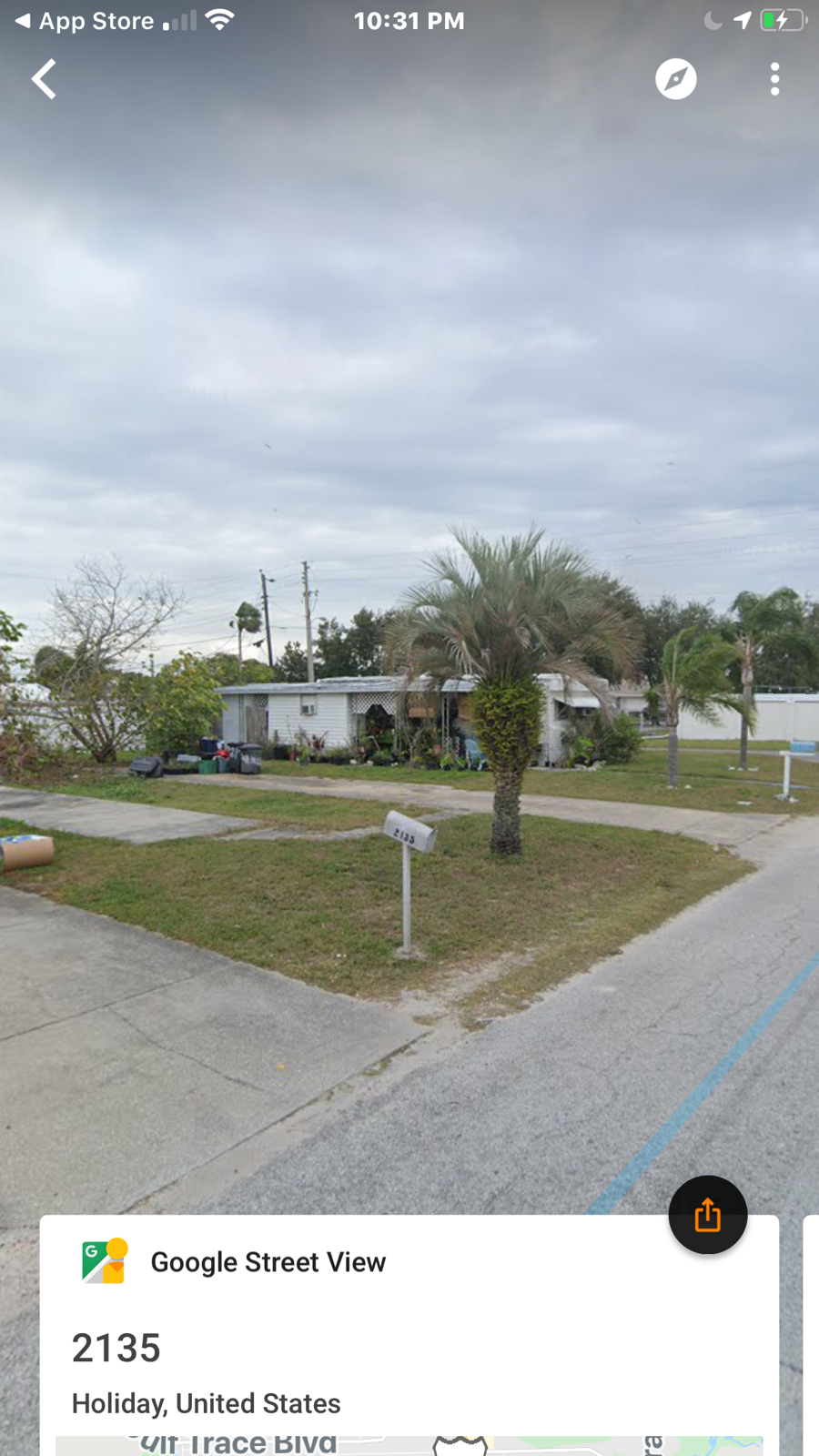 MOBILE HOME LOT 9 MIN.TO TARPON SPRINGS,FL. UTILITIES CONCRETE PADS, 2500 DOWN - $9,995.00