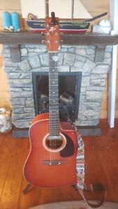 Art and Lutherie cedar Acoustic/Electric guitar