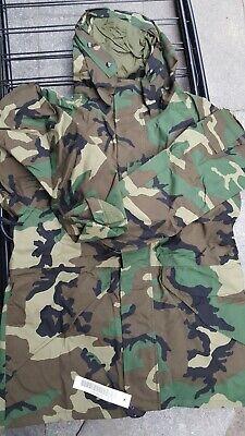 U.S. Military ECWS Gore-Tex Woodland Jacket Small Long NEW  Jacket