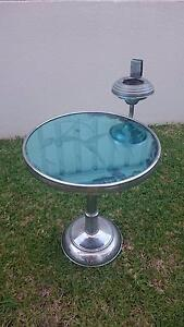 Funky retro mirrored side table North Bondi Eastern Suburbs Preview