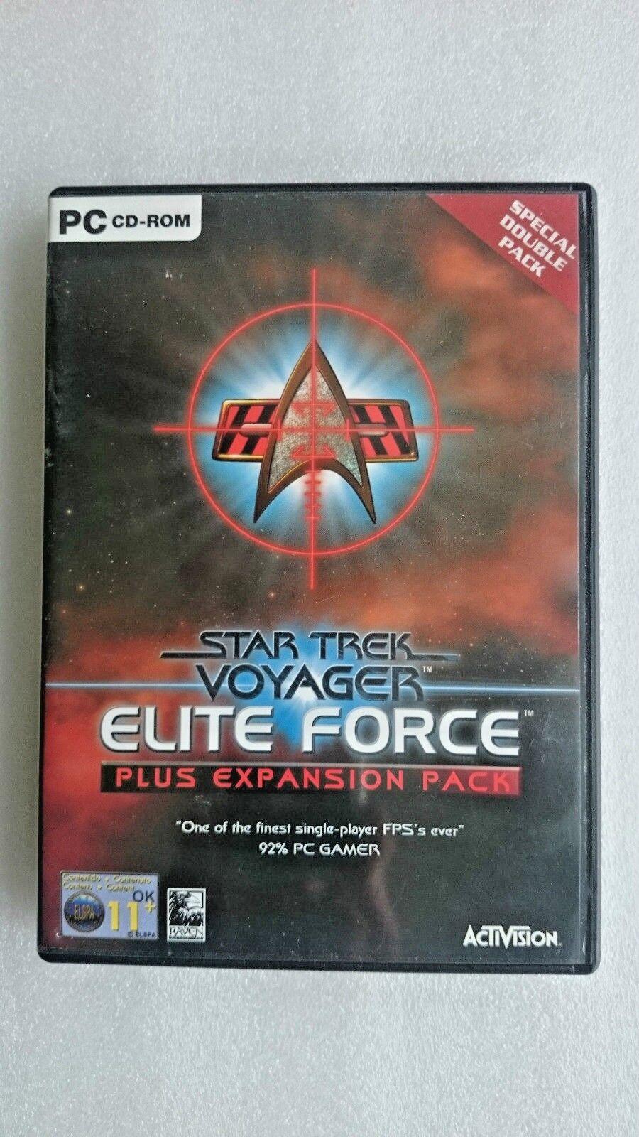 Star Trek Voyager - Elite Force  PC Plus Expansion Pack - Original Release