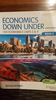 Economics Down Under VCE Economics Unit 3&4