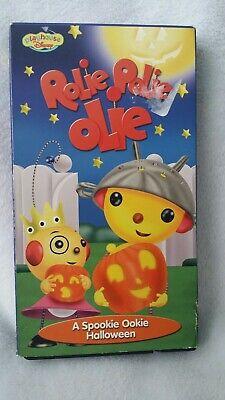 Walt Disney ROLIE POLIE OLIE A Spookie Ookie Halloween VHS VIDEO Playhouse  - Rolie Polie Olie Halloween