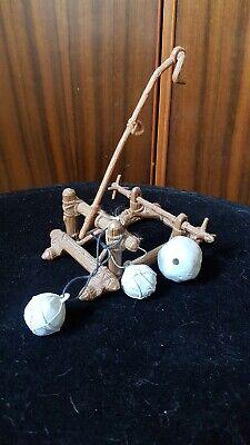 Vintage Star Wars Ewok Catapult Minirig Complete With Boulders Arm & Hook