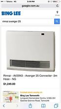 Rinnai Avenger 24 Natural Gas Heater Oxley Vale Tamworth City Preview