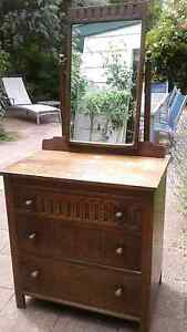 Antique English Oak Dresser Mirboo North South Gippsland Preview