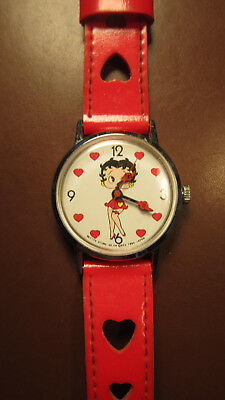 Needs Repair: Cute Betty Boop Windup w/ Hearts -Betty's Store SF, CA 1985 Japan (Costume Stores Sf)